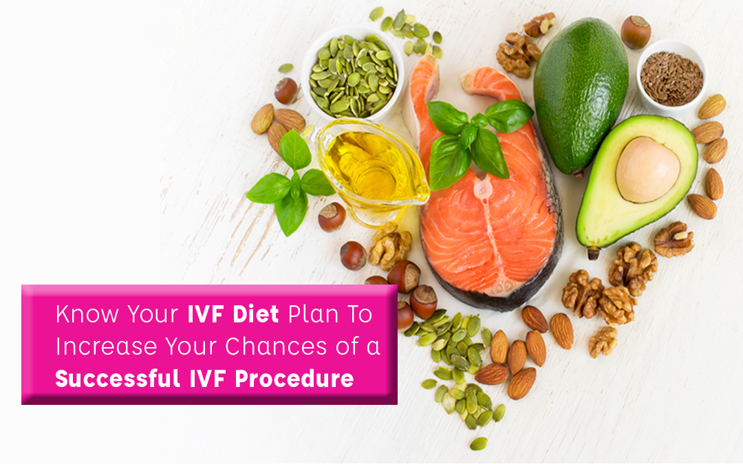 Know Your  IVF Diet Plan To Increase Your Chances of a Successful IVF Procedure